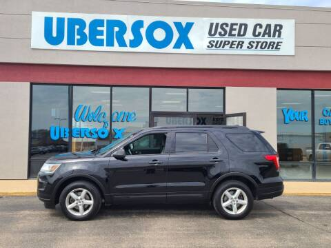 2018 Ford Explorer for sale at Ubersox Used Car Superstore in Monroe WI