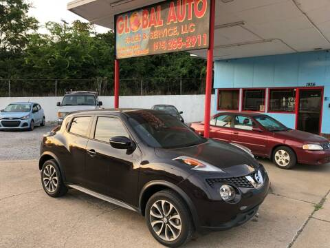 2017 Nissan JUKE for sale at Global Auto Sales and Service in Nashville TN
