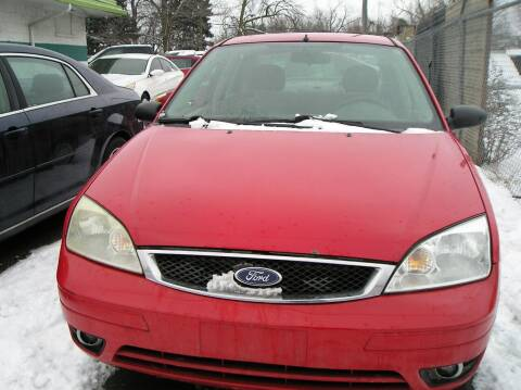 2005 Ford Focus for sale at ZJ's Custom Auto Inc. in Roseville MI