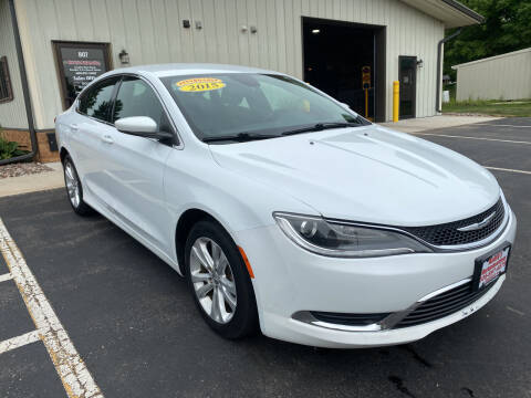 2015 Chrysler 200 for sale at Kubly's Automotive in Brodhead WI