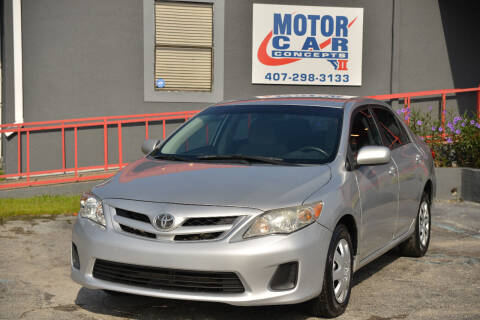 2011 Toyota Corolla for sale at Motor Car Concepts II - Apopka Location in Apopka FL