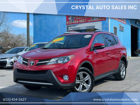 2015 Toyota RAV4 for sale at Crystal Auto Sales Inc in Nashville TN