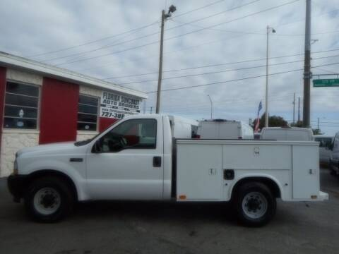 2004 Ford F-250 Super Duty for sale at Florida Suncoast Auto Brokers in Palm Harbor FL