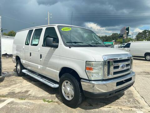 2008 Ford E-Series Cargo for sale at DOVENCARS CORP in Orlando FL