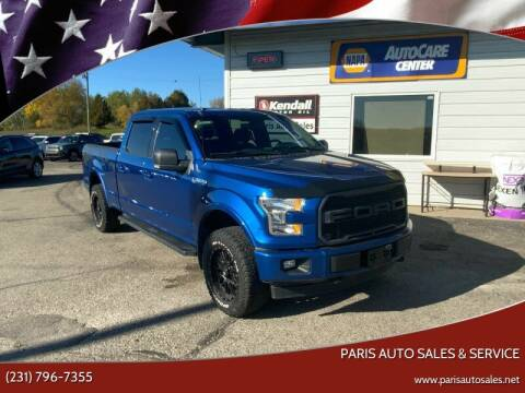 2017 Ford F-150 for sale at Paris Auto Sales & Service in Big Rapids MI