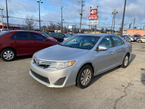 2012 Toyota Camry for sale at 4th Street Auto in Louisville KY