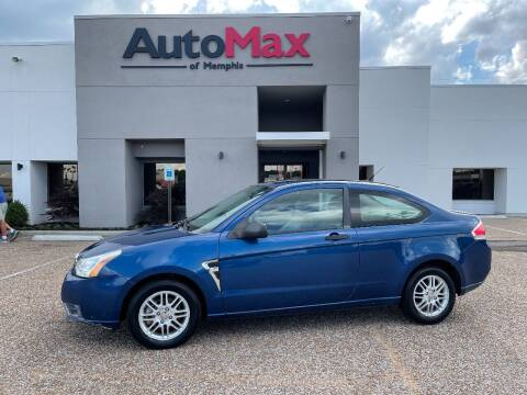 2008 Ford Focus for sale at AutoMax of Memphis - V Brothers in Memphis TN