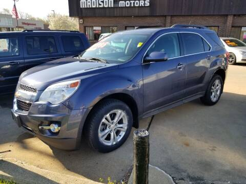 2013 Chevrolet Equinox for sale at Madison Motor Sales in Madison Heights MI