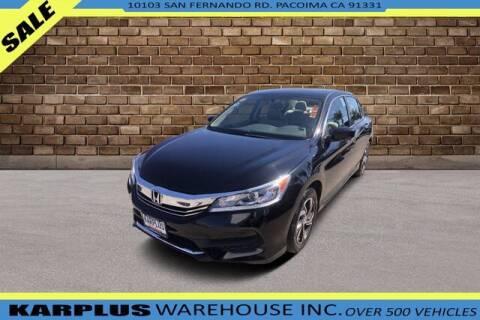 2017 Honda Accord for sale at Karplus Warehouse in Pacoima CA