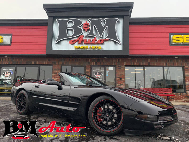 2001 Chevrolet Corvette for sale at B & M Auto Sales Inc. in Oak Forest IL