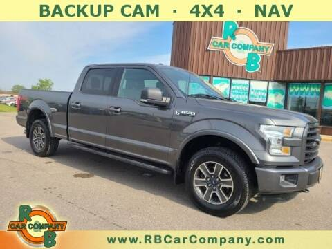 2015 Ford F-150 for sale at R & B Car Co in Warsaw IN