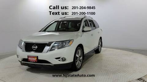 2013 Nissan Pathfinder for sale at NJ State Auto Used Cars in Jersey City NJ