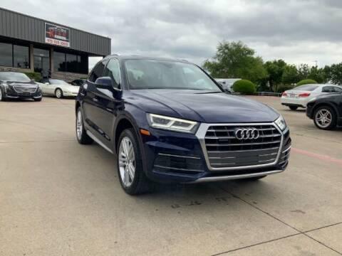 2018 Audi Q5 for sale at KIAN MOTORS INC in Plano TX