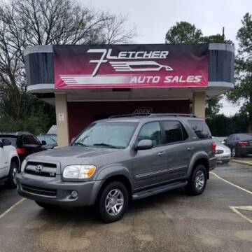 2007 Toyota Sequoia for sale at Fletcher Auto Sales in Augusta GA
