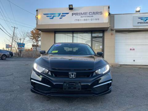 2020 Honda Civic for sale at Prime Cars Auto Sales in Saugus MA
