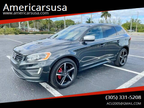 2015 Volvo XC60 for sale at Americarsusa in Hollywood FL
