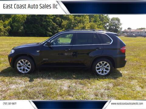 2013 BMW X5 for sale at East Coast Auto Sales llc in Virginia Beach VA