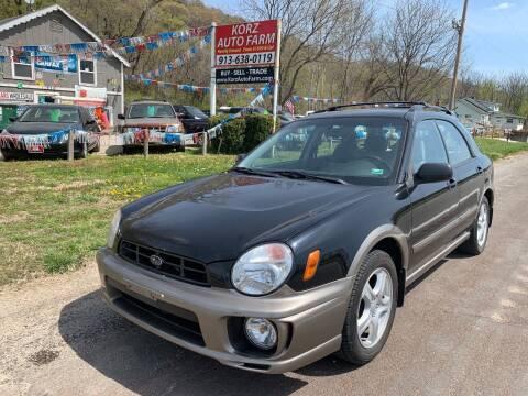 2003 Subaru Impreza for sale at Korz Auto Farm in Kansas City KS