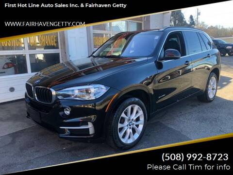 2016 BMW X5 for sale at First Hot Line Auto Sales Inc. & Fairhaven Getty in Fairhaven MA