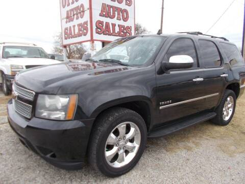 2010 Chevrolet Tahoe for sale at OTTO'S AUTO SALES in Gainesville TX