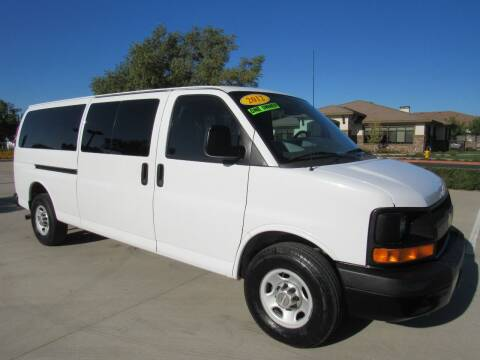 2012 Chevrolet Express Passenger for sale at 2Win Auto Sales Inc in Oakdale CA