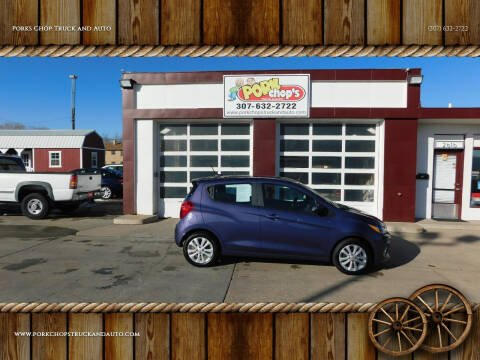 2017 Chevrolet Spark for sale at Porks Chop Truck and Auto in Cheyenne WY