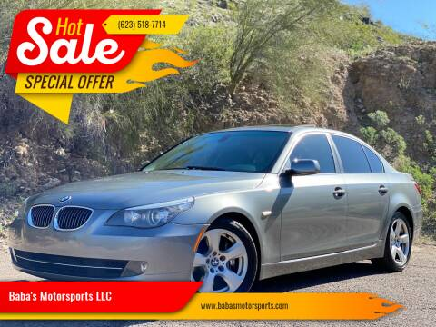 2008 BMW 5 Series for sale at Baba's Motorsports, LLC in Phoenix AZ