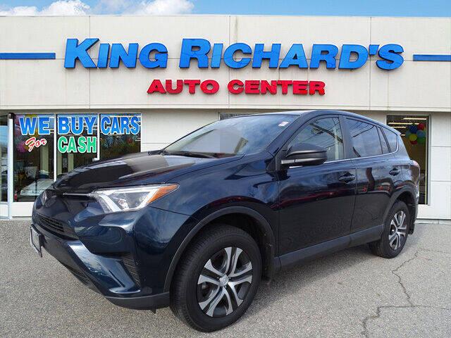 2018 Toyota RAV4 for sale at KING RICHARDS AUTO CENTER in East Providence RI