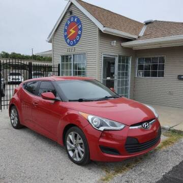 2016 Hyundai Veloster for sale at Spark Motors in Kansas City MO