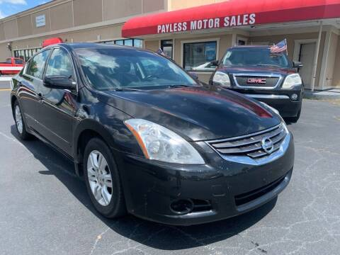 2010 Nissan Altima for sale at Payless Motor Sales LLC in Burlington NC