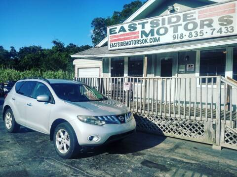 2009 Nissan Murano for sale at EASTSIDE MOTORS in Tulsa OK