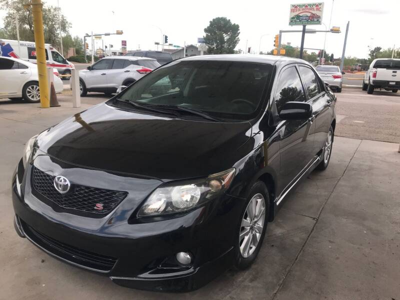 2010 Toyota Corolla for sale at Fiesta Motors Inc in Las Cruces NM