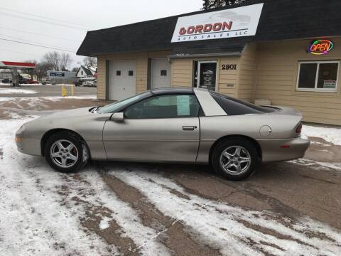 2000 Chevrolet Camaro for sale at Gordon Auto Sales LLC in Sioux City IA