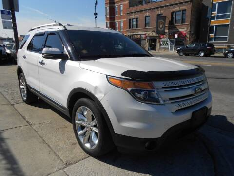 2012 Ford Explorer for sale at Metropolitan Automan, Inc. in Chicago IL