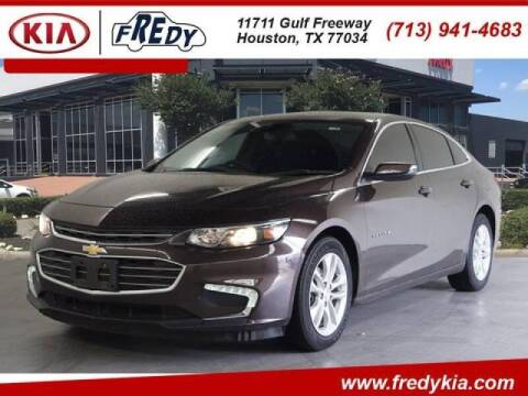 2016 Chevrolet Malibu for sale at FREDYS CARS FOR LESS in Houston TX