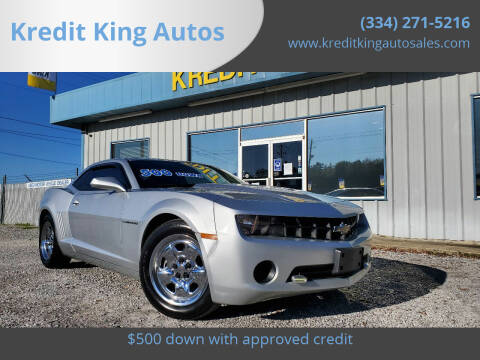 2013 Chevrolet Camaro for sale at Kredit King Autos in Montgomery AL