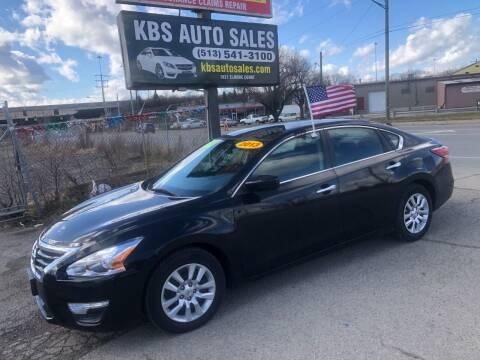 2013 Nissan Altima for sale at KBS Auto Sales in Cincinnati OH