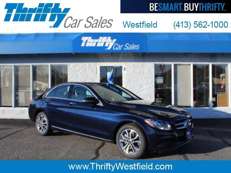 2018 Mercedes-Benz C-Class for sale at Thrifty Car Sales Westfield in Westfield MA