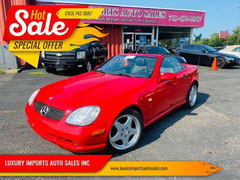 1999 Mercedes-Benz SLK for sale at LUXURY IMPORTS AUTO SALES INC in North Branch MN