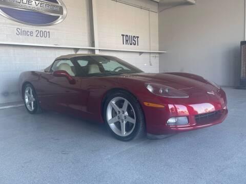 2006 Chevrolet Corvette for sale at TANQUE VERDE MOTORS in Tucson AZ