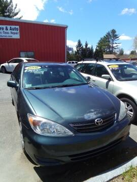 2002 Toyota Camry for sale at ATI Automotive & Used Cars Inc. in Plaistow NH