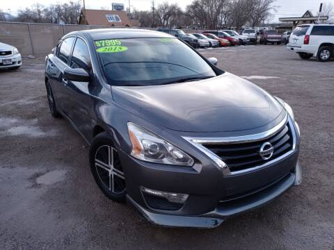 2015 Nissan Altima for sale at Canyon View Auto Sales in Cedar City UT