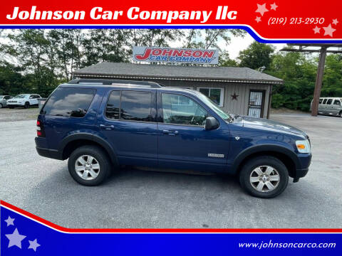 2007 Ford Explorer for sale at Johnson Car Company llc in Crown Point IN