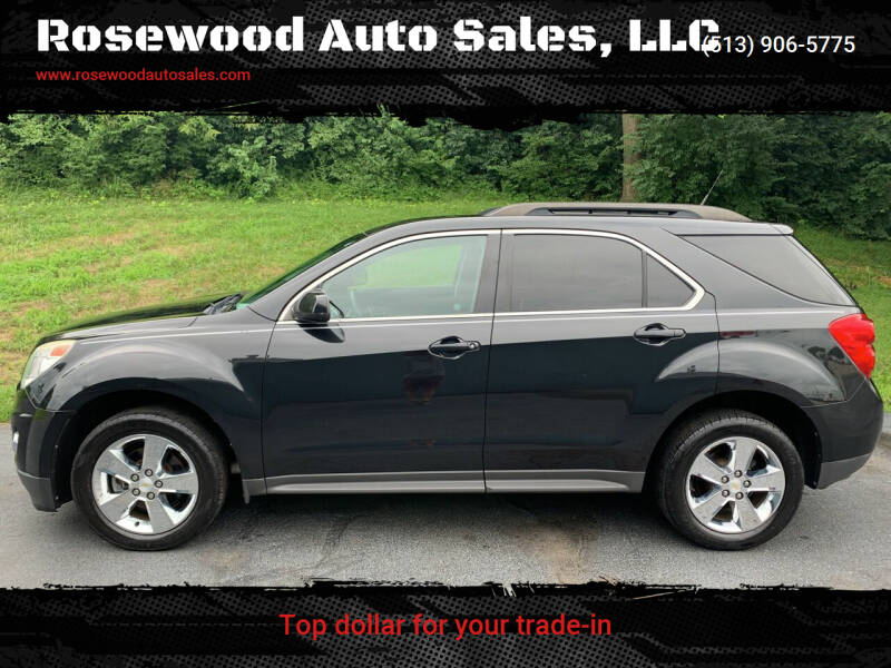 2012 Chevrolet Equinox for sale at Rosewood Auto Sales, LLC in Hamilton OH