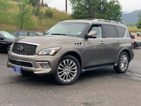 2016 Infiniti QX80 for sale at Lakeside Auto Brokers Inc. in Colorado Springs CO
