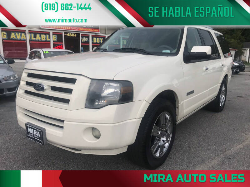 2008 Ford Expedition for sale at Mira Auto Sales in Raleigh NC