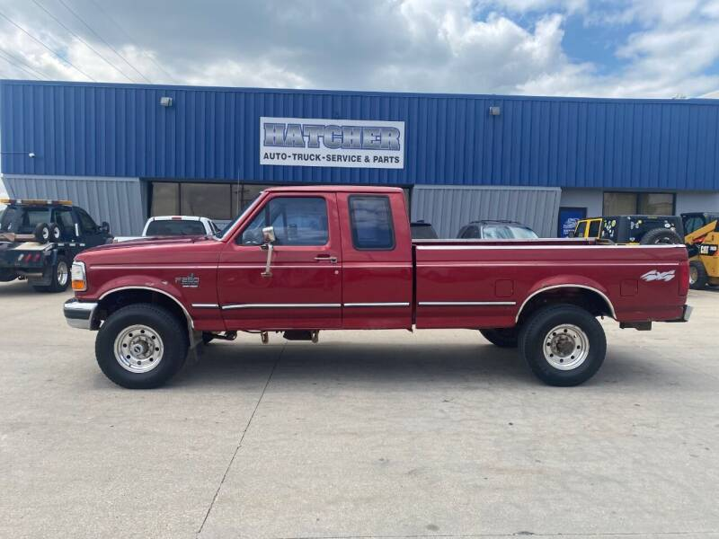 1997 Ford F-250 for sale at HATCHER MOBILE SERVICES & SALES in Omaha NE