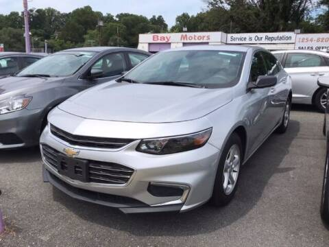 2017 Chevrolet Malibu for sale at Bay Motors Inc in Baltimore MD