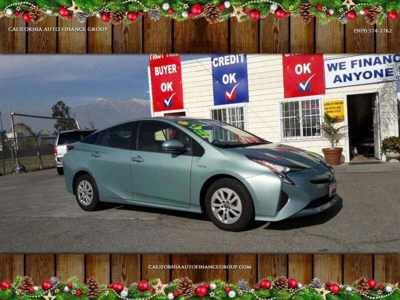 2016 Toyota Prius for sale at CALIFORNIA AUTO FINANCE GROUP in Fontana CA