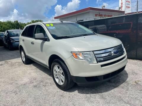 2007 Ford Edge for sale at Alma Car Sales in Miami FL
